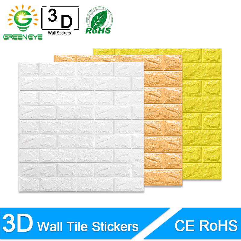 3D Wall Stickers Marble Brick Peel And Self-Adhesive Wall Paper Waterproof DIY Kitchen Bathroom Home Wall Decal Sticker Vinyl