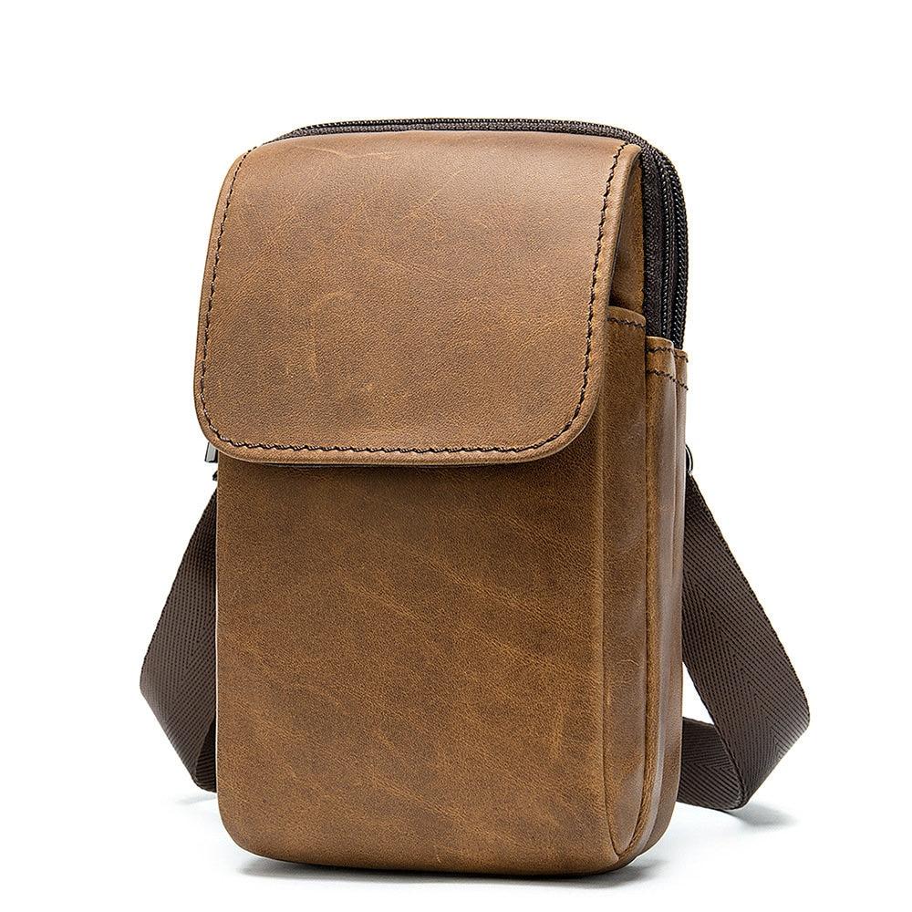Multifunctional Transformation Of Waist Bag Handbag Diagonal Bag Large Capacity Compact Easy To Carry Sports Bag Hot PU Leather
