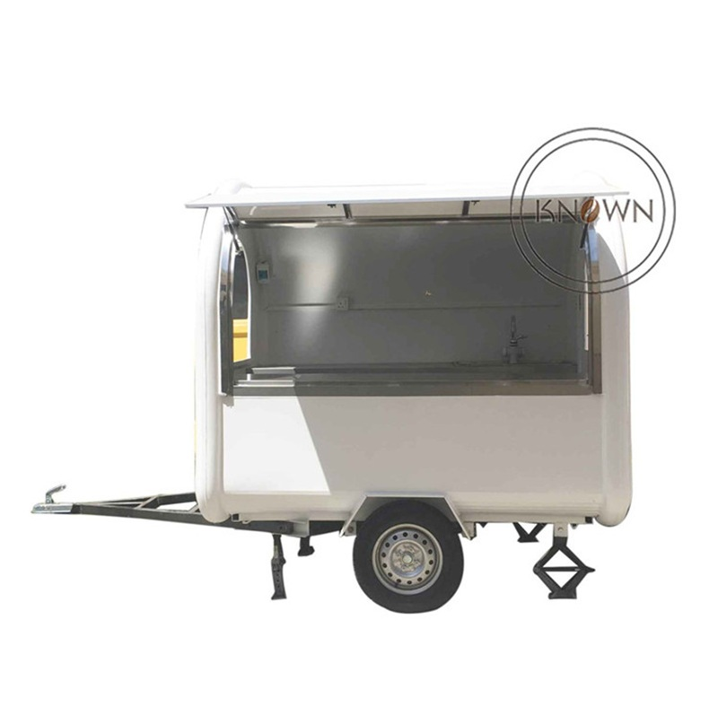 Logo Customized 220cm Length For Ice Cream /drinks Of Golf Club Food Cart/food Truck/food Trailer
