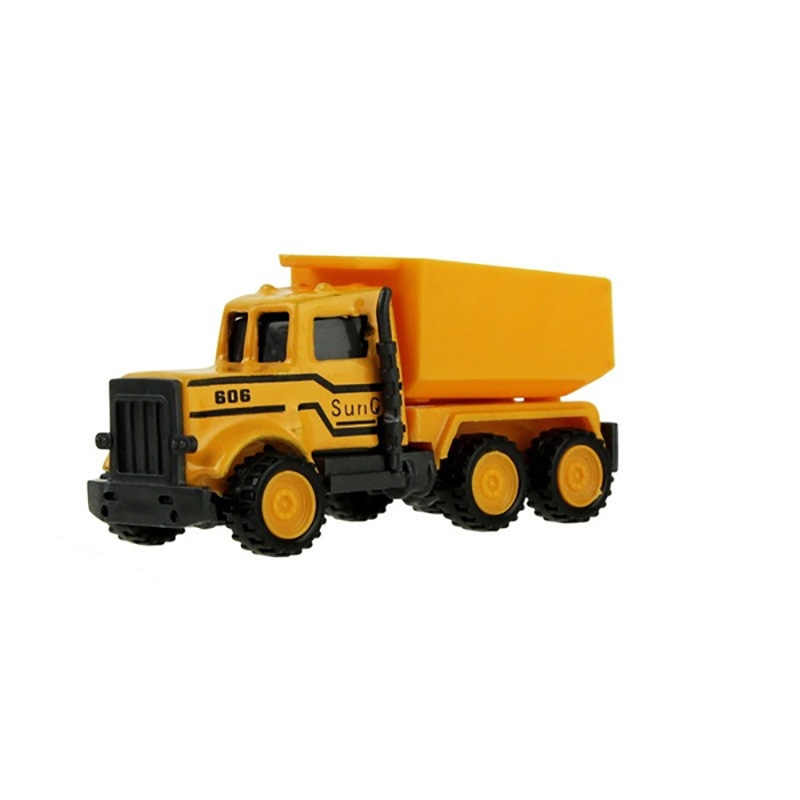 8 Styles Mini Engineering Car Tractor Toy Dump Truck Model Classic Toy Alloy Car Children Toys Engineering Vehicle