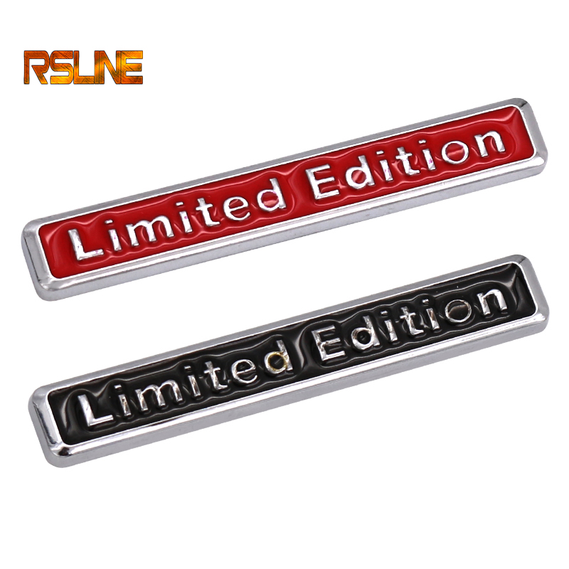 2017 3D Metal Chrome Limited Edition Auto Car Sticker Badge Decal Motorcycle Stickers Emblem For Suzuki Honda Kawasaki HARLEY