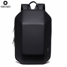 2019 New OZUKO Hard Shell Backpack Fashion Men's Backpack 14