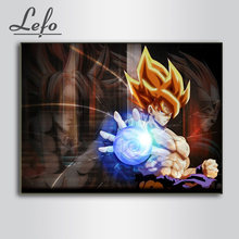 Full Square Drill DIY Diamond 5D Embroidery Seven Dragon Ball Goku Painting Animation Picture Wall Art Home Decor Handmade Gift(China)