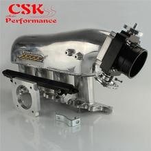 צריכת סעפת + מצערת גוף + דלק רכבת מתאים למיצובישי לנסר 4G63 EVO 4 9 שחור/כחול/סגול