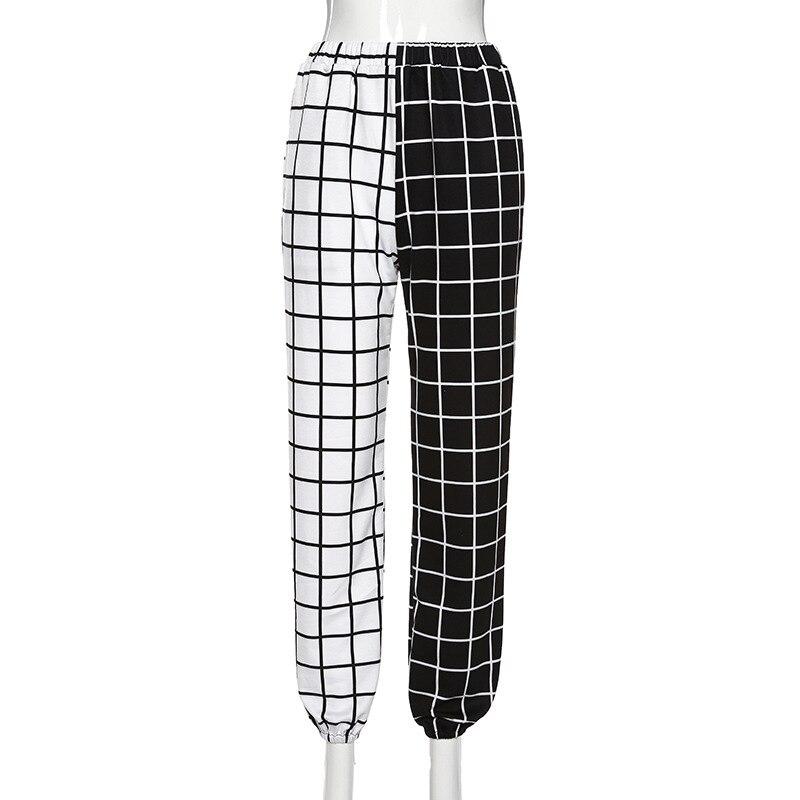 2020 Punk Gothic pant Harajuku Pentagram pant Long Sleeve Autumn Hollow Out Patchwork trouser Vintage palazzo pants