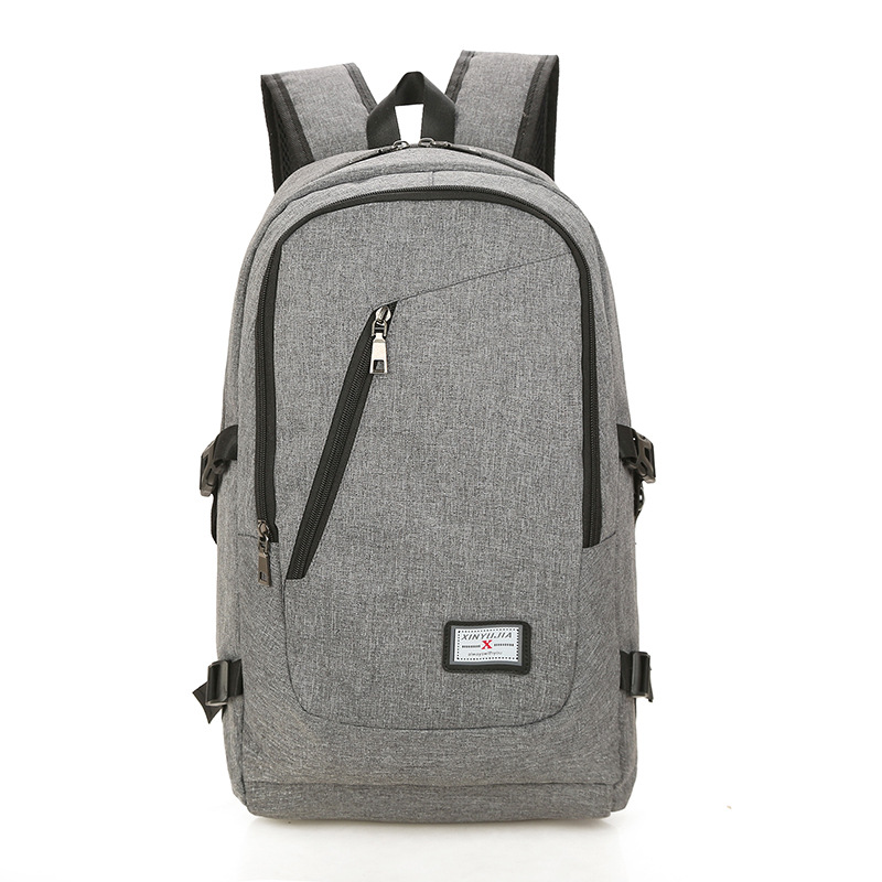 Fashion Man Backpack Fashion School Bag Men's High School Students Canvas Bag Backpack Women's Casual Travel Bag Computer Bag