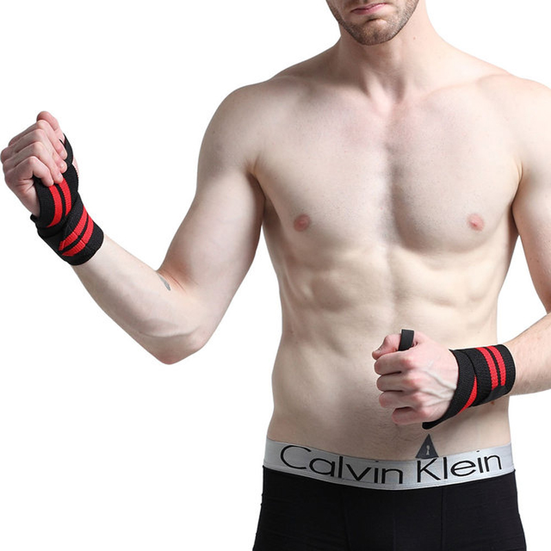 Support Brace Badminton Bodybuilding Basketball  Protector Bandage Arm Power Strap Wristband Wrist Wraps  Hand Brace Fitness