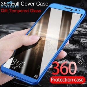 Противоударный 360 Полный чехол для телефона Huawei Honor 6C Pro 9X 20s 20e 10 9 8 Lite 8X 8S 8C 8A 7S 7X 7A, закаленное стекло, крышка Nova 5T