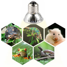 BRELONG UVA + UVB 3.0 Pet Reptile Lamp UV Auxiliary Heat Lamp Amphibious Lizard Temperature Controller LED Heating Bulb 75W