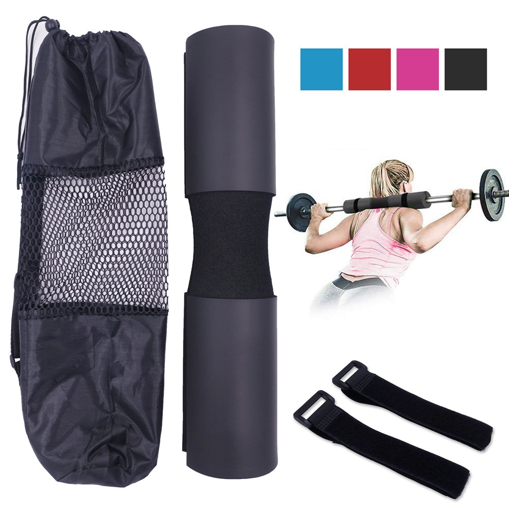Gym Barbell Squat Pad For Bodybuilding Weightlifting Crossfit Lunges Workout Neck & Shoulder Protective Cushioned Hip Thrust Pad