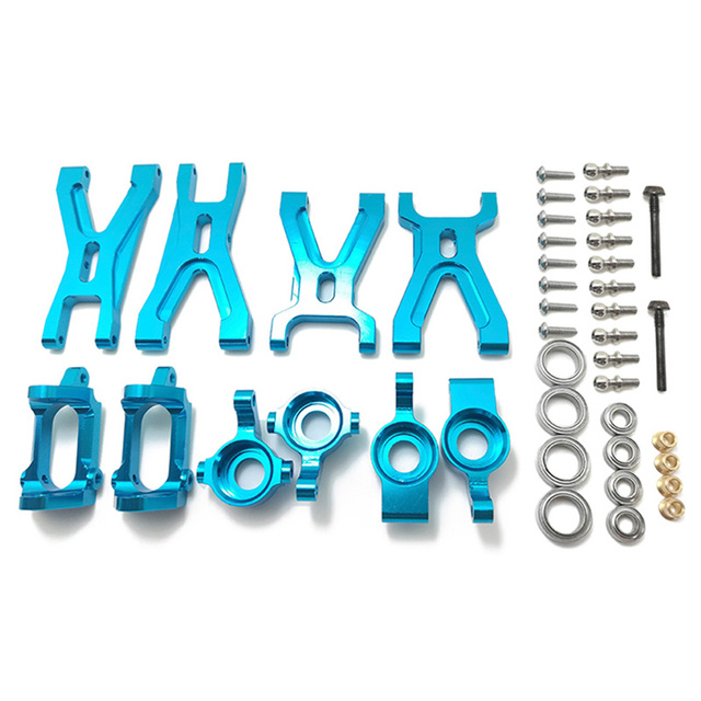 Upgrade Suspension Arm & Front/Rear Hub C Seat Parts Kit for WLtoys A959 A979 A959B A979B RC Car Replacements