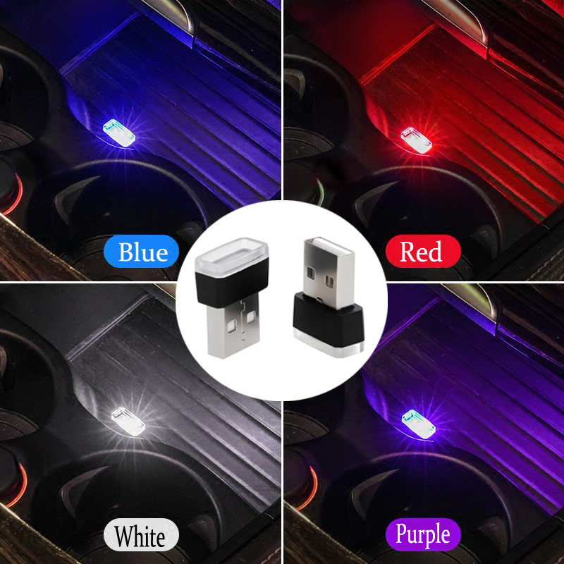 Interior Mini USB Light LED Modeling for <font><b>BMW</b></font> X2 X3 X5 X4 X6 M3 M5 E60 E90 E46 E39 F10 <font><b>F01</b></font> Auto <font><b>Accessories</b></font> Car Ambient Neon image