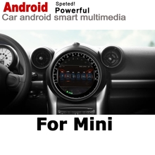 Para Mini Countryman R60 2010, 2011, 2012, 2013, 2014, 2015, 2016 coche Multimedia player GPS Radio de Audio navegación NAVI