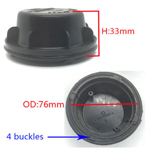 Image 5 - 1 pc for Chevrolet Malibu 20838703 Headlamp dust cover headlight accessories waterproof cap Led extension back cover Bulb access