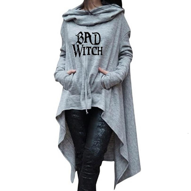 Letters Print Hoodies For Women Sweatshirts