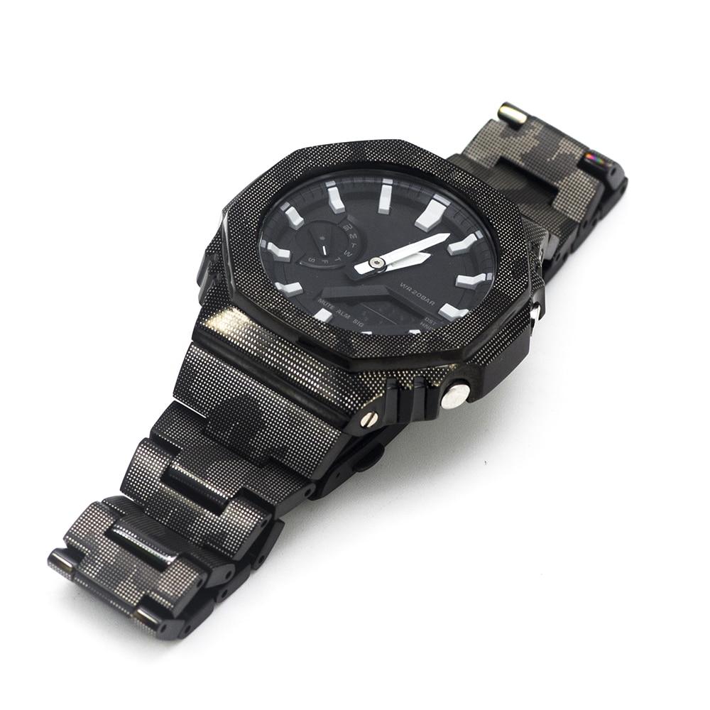 Hot DealsGA2100 Watch Set Modification GA2100 Watchband Bezel 100% Metal 316L Stainless Steel