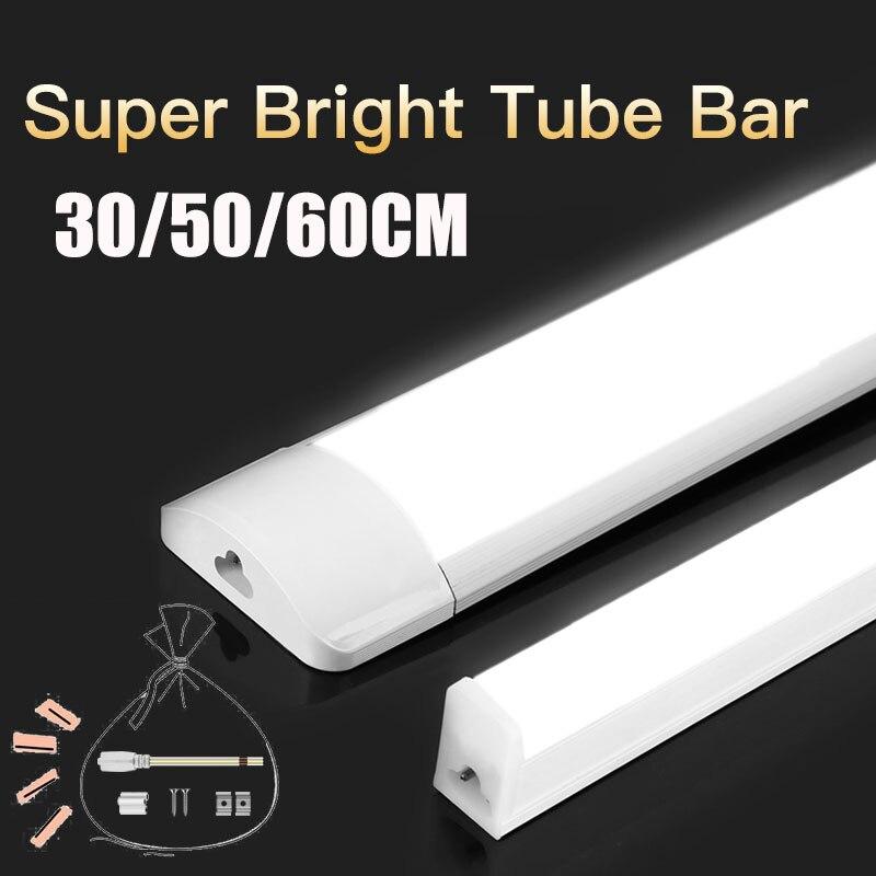 T5 Led Leuchtstoffröhre 220V 30/50/60CM 10W 20W Led Röhre Lampe 1FT 2FT Bar Leuchte für Wand Hause Beleuchtung Schrank Küche Studie