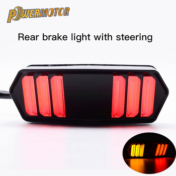 Motorcycle LED Tail Light Rear Signal Lights Running Turn Indicator Lamp For Honda MSX125 CBR650F CTX700 CTX700N