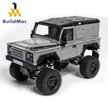 Car Rover Defende Model Kit Bricks Compatible with lepined Technic 1872 90 X Off-road Vehicle Building Blocks Toys Children lepin 23011 2959pcs technic series off road vehicle compatible with moc 5360 model building sets blocks bricks educational toys