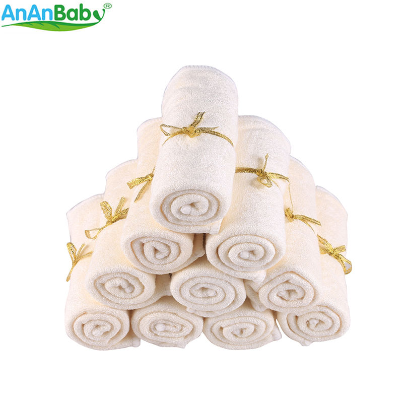 100% Bamboo Wipes Clearance Towel Washable Reusable Baby Wipes Breathable Super Absorption