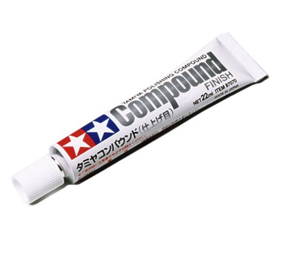 TAMIYA 87070 Polishing Compound Extra Fine Finish 22ml PLASTIC MODEL CRAFT TOOLS