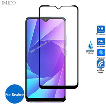 Full Cover Tempered Glass For Realme 6 Pro 6i 5S 5i X2 XT 5 Pro 3i X Lite C2 C1 X50 3 2 Screen Protector For Real Me 5Pro Realmi(China)