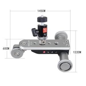Image 3 - KINGJOY PPL 06S 카메라 슬라이더 Dolly Car Rail Systems 시간 경과 카메라 폰 캠코더 Dslr 용 전동 돌리 카