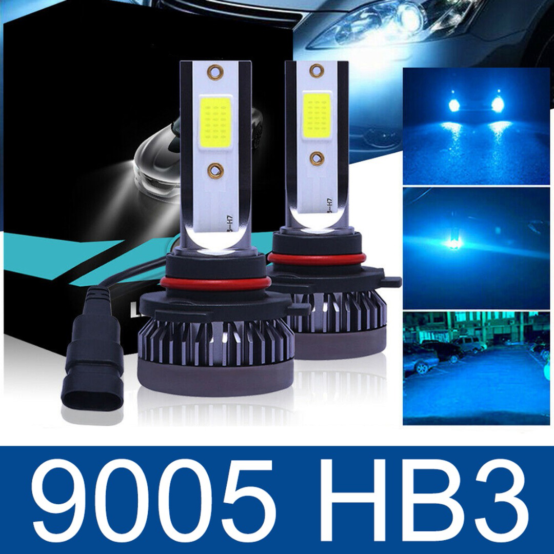 For Suzuki Swift 2010-2016 Front Fog Light H11 Xenon Headlight Bulbs Pair Lamp
