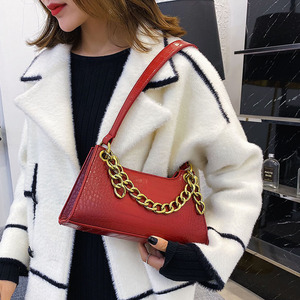 Image 4 - Leather Crossbody Bag For Women Mini Fashion Messenger Bag Retro Evening Handbag Chain Shoulder Bags Small Purse Female boston