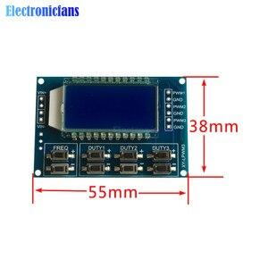 3 kanal PWM Bord Modul Pulse Frequenz Duty Zyklus Einstellbar Modul Signal Generator 1Hz-150Khz mit LCD display