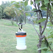 Outdoor Hook Camping Tent Lamp Holder Water Cup Hook Stainless Steel Multi-Function Stainless-Steel Outdoor Portable#y40(China)