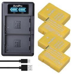 Durapro 2pc 1530 mah EN-EL14a EN-EL14 el14 conjunto de carregador de bateria para nikon d5600, d5500, d5300, d5200, d5100, d3200, d3300, p7800, p7100