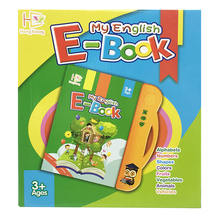 New English E-book Learning Machine Toy Book For Children  Knowledge Cognitive Activity Forinfant Toddler Baby 2-6Y