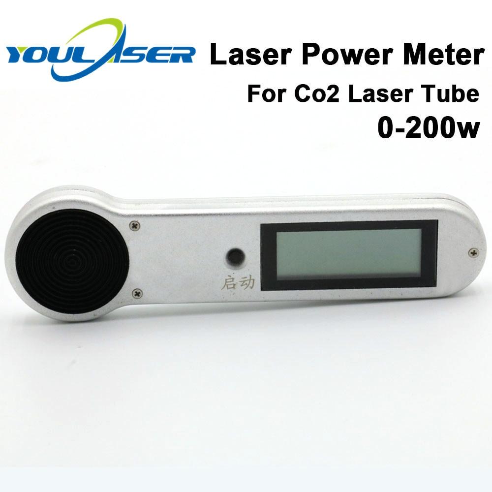 Handheld Co2 Laser Power Meter 0-200w HLP-200 For Laser Engraving Cutting Machine Tube