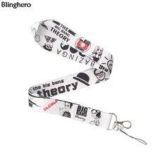Blinghero Забавный ТВ-шоу держатель для телефона шнурок для ключей классный держатель для телефона на шею ремни с нагрудные опознавательные Значки для идентификации владельцев BH0213