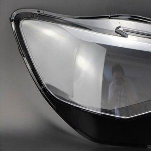 Image 2 - Прозрачная стеклянная маска для передних фар Audi A6L C7 PA 2016 2018