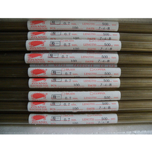 Ziyang Brass Electrode Tube Single Hole 0.7*500mm  for EDM Drilling Machine