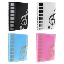 40 Pages A4 Size Piano Music Score Sheet Document File Folder Storage Organizer M17F
