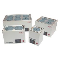 Termostato digitale da bagno di acqua calda da bagno pentola Bagno di Acqua a temperatura costante Digitale Labs Esperimenti di 1/2/4/ 6 fori