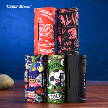 цена на Original Vapor Storm Puma Baby Box Mod E Cigarette 80w Temp Control Adjustable Wattage VW TC Vape Mod for 510 Atomizers Tank RDA