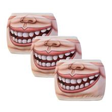 3 sztuk maska Unisex kreatywny śmieszne zwierząt bawełna odkryty Sport maski na twarz zmywalny maska rowerowa oddychająca Sport usta maska tanie tanio ISHOWTIENDA Cotton