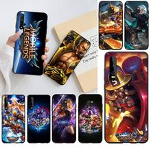 HPCHCJHM Mobile Legends game TPU black Phone Case Cover Hull