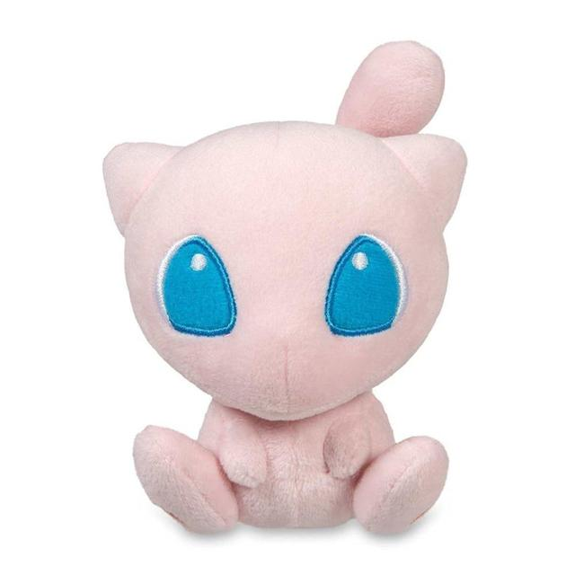 20Pcs/Lot New Funs Gift 6inch Mew Eevee Action Figure Mega Nice Soft Plush Stuffed Pink Doll Cute Lifelike Birthday S Nice Toys