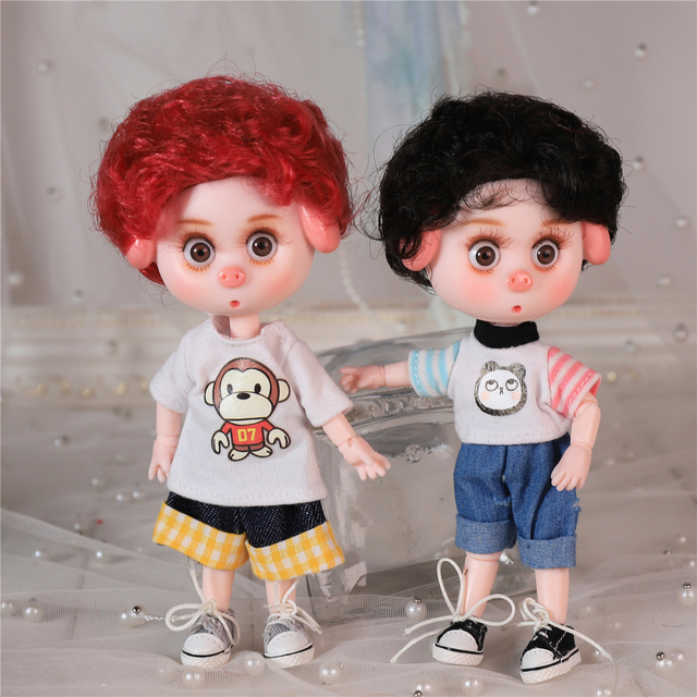 DBS Dream Fairy 1/12 BJD DODO doll 15cm doll toy ob11 mini doll with clothes shoes 1