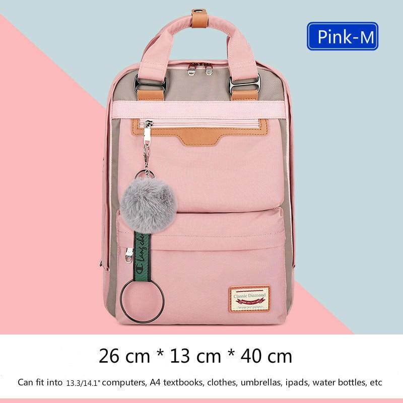 Image 3 - 2020 New Waterproof Nylon Kids Backpack Girls For Middle School  Students Travel Shoulder Backpacks Children Schoolbags Women BagSchool  Bags