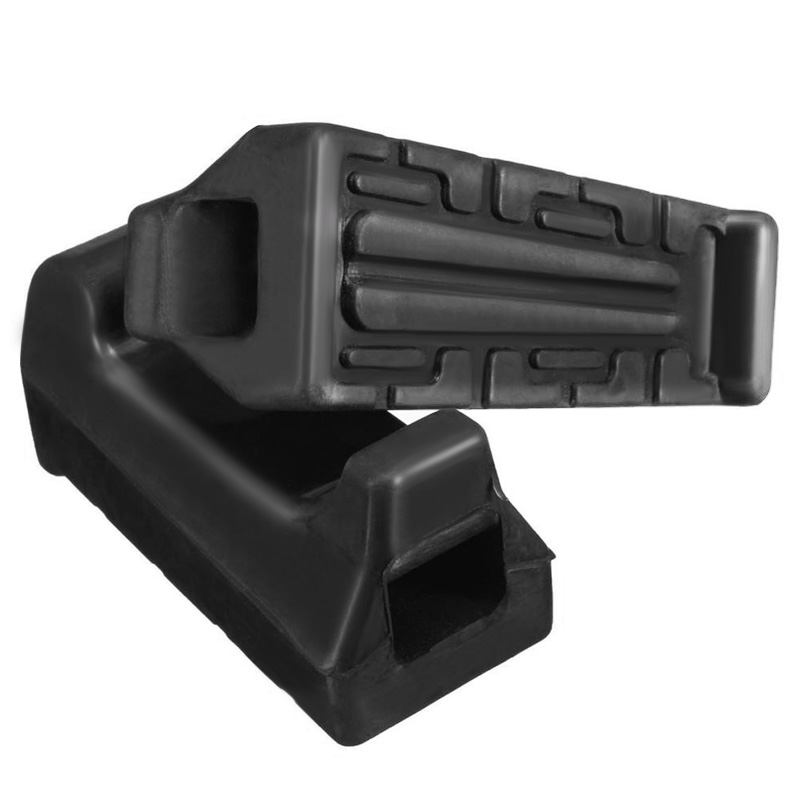 Image 4 - 1 Pair Left & Right Motorcycle Rubber Front FootRest Foot Pegs For Yamaha YBR125 YBR 125 All Years Motorcycle Accessories-in Foot Rests from Automobiles & Motorcycles