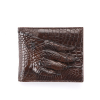 High quality Crocodile Wallet Male Genuine Leather fashion Short Fund Leisure Time Cross Section Man Billeteras delgada purses