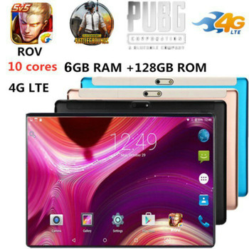2020 New Upgrade Tablet Pc 10.1 inch Tablet PC 10 Core 4G Phone Call Google GPS WiFi FM Bluetooth Tablets 6G+128GB Android 8.1