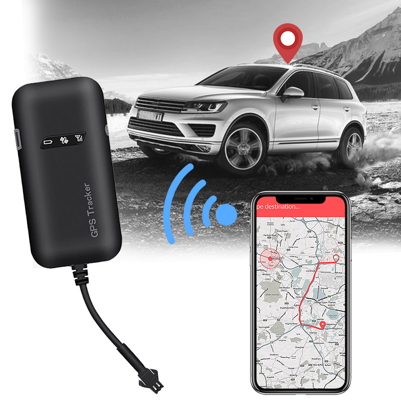 Geartronics Mini <font><b>GPS</b></font> Car Tracker <font><b>GPS</b></font> Locator <font><b>GT02A</b></font> GSM <font><b>GPS</b></font> Tracker For Car 12-36V Google Maps Realtime Tracking Free APP image