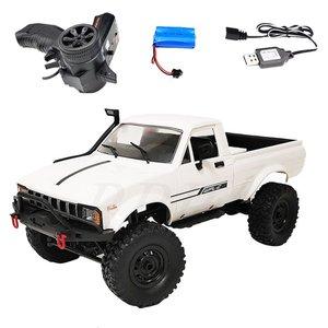 WPL C24-1 Remote Control Car Full Scale Four-wheel Drive Off-road Truck Children Electric Remote Control Car Model